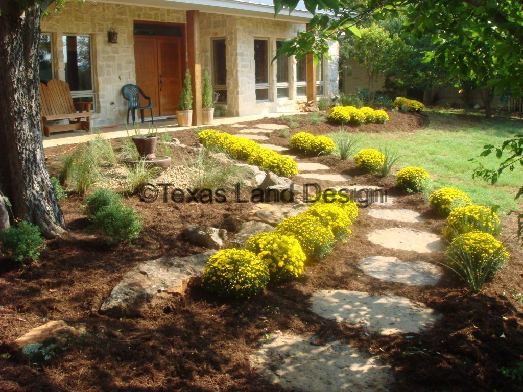 landscaping texas land design