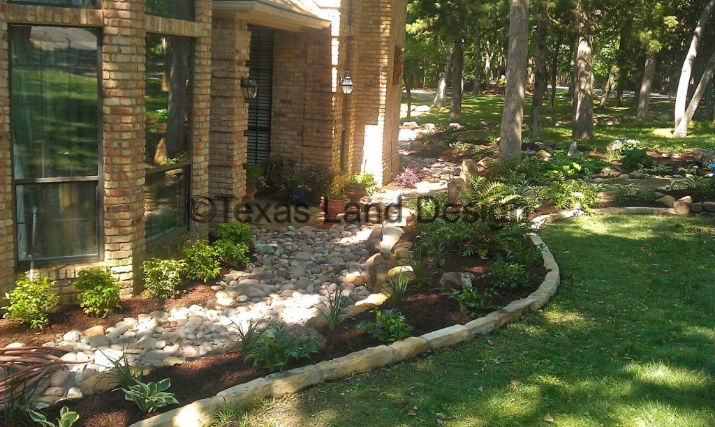 Top 28 land design landscaping retaining walls mn for Texas landscape design